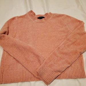 Peachy Crop Sweater